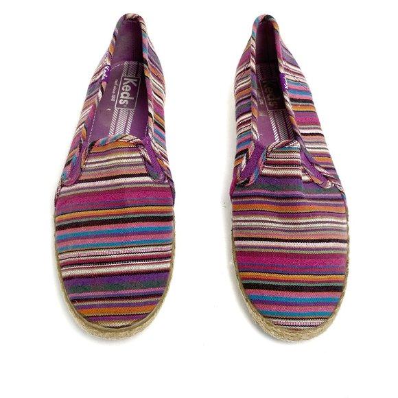 Keds Serape Print Slip On Espadrille Sneakers